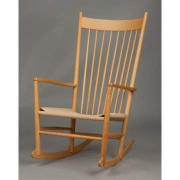 Hans Wegner (Danish, 1914-2007) J16 Rocking Chair