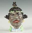Ceramic Humidor of a Black Woman