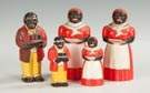 Group of Five Aunt Jemima Plastic Syrups