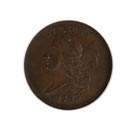 1793 Half Cent Liberty Cap Gold Coin