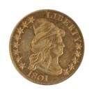 1801 Ten Dollar Draped Bust Gold Coin