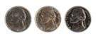 Type 1, Type 2 & Cameo Five Cent Coins