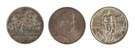 Three Commemorative Fifty Cent Coins