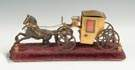 Horse & Carriage Inkwell