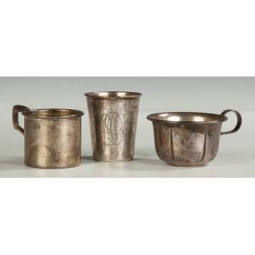 Three Silver Cups