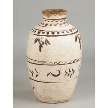 Middle Eastern Terra Cotta Vase