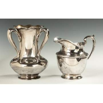 Tiffany Loving Cup and Gorham Water Pitcher