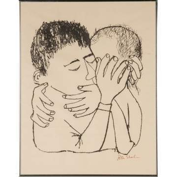 Two Ben Shahn (American, 1898-1969) Lithographs