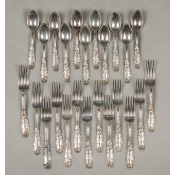 Gorham Sterling Silver Forks & Spoons - Luxembourg Pattern