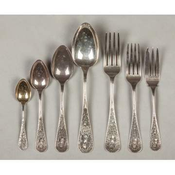 Whiting Sterling Silver Flatware