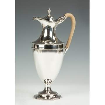 Hester Bateman, English, Sterling Silver Pitcher