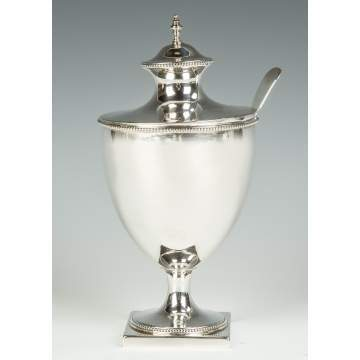 Robert Hennell, English, Sterling Silver Sugar Urn