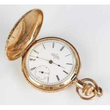 Elgin 14K Gold Pocket Watch