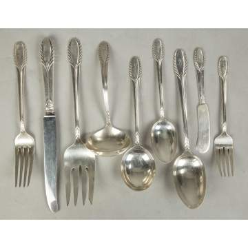 International Sterling Silver Flatware,Trousseau Pattern