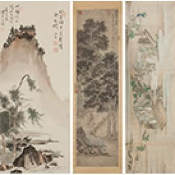 Three Chinese Scrolls