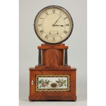 Rare Joseph Ives Brooklyn Model Shelf Clock