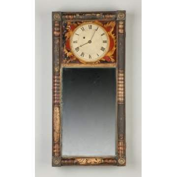 Abiel Chandler Mirror Clock