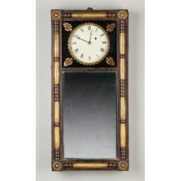 L.W. Noyes Mirror Clock, New Hampshire