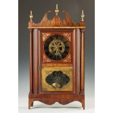 Joseph Ives Wagon Spring Shelf Clock