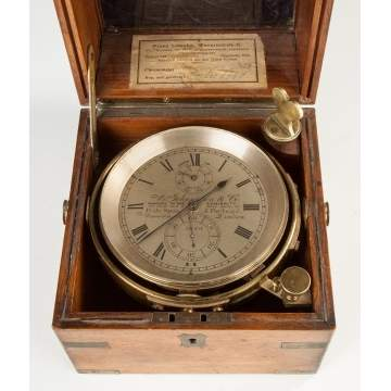 A. Johannsen and Co. Ship's Chronometer, London, England