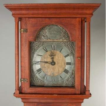 A & C Edwards Tall Case Clock, Ashby, MA