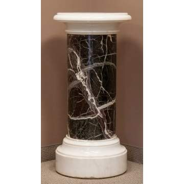 Marble Pedestal, Rotating