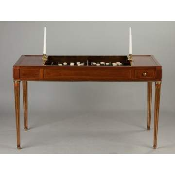 George III Backgammon Table