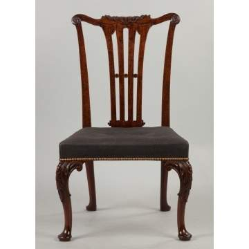 English Transitional Side Chair