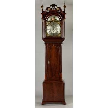Nathaniel Sanders, Manchester, England, Tall Case Clock