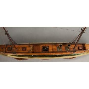 Fine & Rare English Clockwork Windsor Ship Model