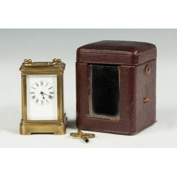 Miniature French Carriage Clock, Henri Jacot