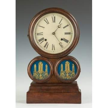 E. Ingraham Spectacle Shelf Clock
