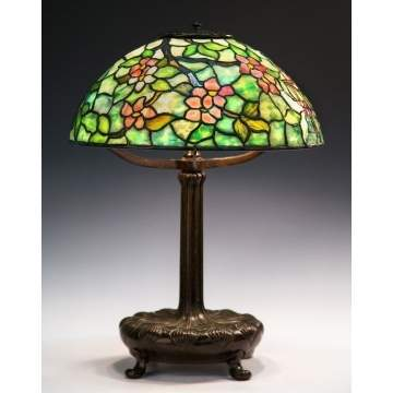 Tiffany Studios New York Apple Blossom Lamp