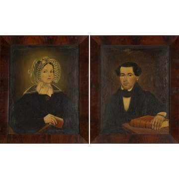 Pair of New York State Portraits