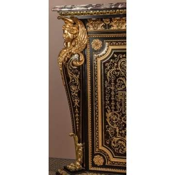 Fine and Rare Boulle Cabinet