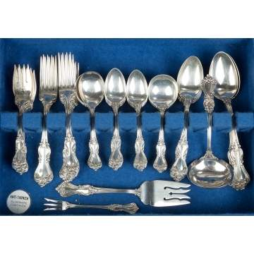 Reed and Barton Sterling Silver Flatware -  Marlboro Pattern