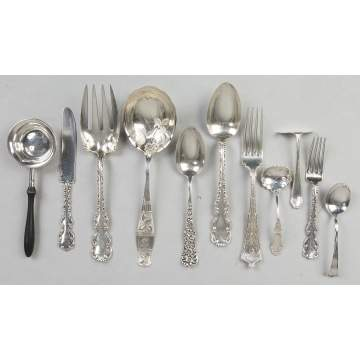 Miscellaneous Sterling Silver and Silver Plate