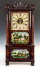 Birge Mallory & Co. Triple Decker Shelf Clock,  Bristol, CT