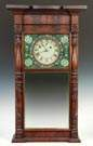 Asa Munger Flat Top Shelf Clock, Auburn, NY