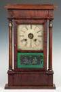 Sperry & Shaw Four Column Shelf Clock, NY
