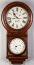 B.B. Lewis Perpetual Calendar Wall Clock, Welch  Spring & Co.  Bristol Ct