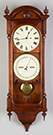 Seth Thomas Double Dial Calendar Clock