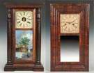 J.C. Brown, Forestville Manufacturing & Co. &  Birge & Peck & Co., Bristol, CT Shelf Clocks