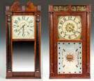 Henry Terry & Co., Plymouth, CT  And Pratt &  Frost, Reading, Mass Shelf Clocks