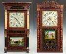 Riley Whiting, Winchester, CT  & Jerome Darrow,  Bristol, CT Shelf Clocks