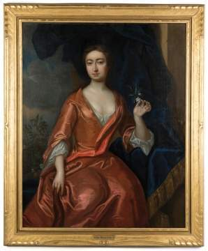Attr. to Sir Peter Lely (British, 1618-1680) Portrait of a Lady
