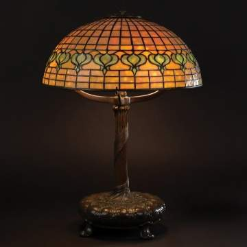 Tiffany Studios Pomegranate Table Lamp