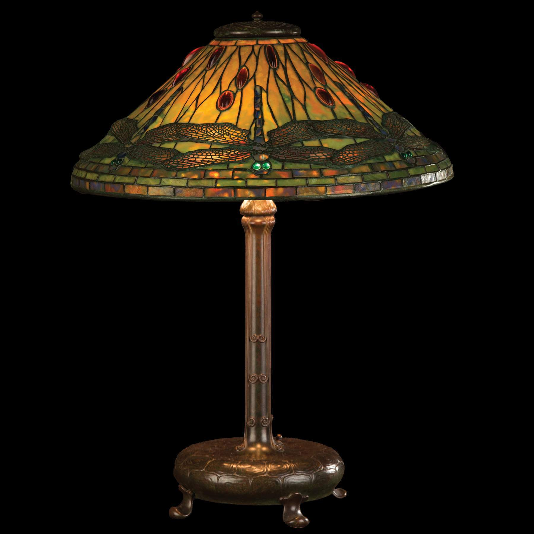 Tiffany studios dragonfly table lamp cottone auctions tiffany studios dragonfly table lamp geotapseo Gallery
