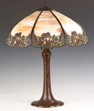 Handel Arts and Crafts Table Lamp