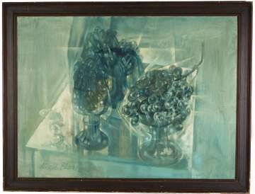 "Carlyle Brown (American, 1919-1963) ""Crystals and  Grapes"""